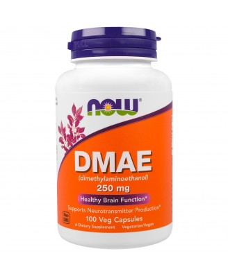 DMAE 250 mg (100 Veggie Caps) - Now Foods