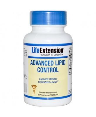 Advanced Lipid Control (60 Veggie Capsules) - Life Extension