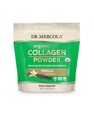 Organic Collagen Powder 304 gram Vanilla - Dr. Mercola