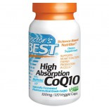 Doctor's Best, High Absorption CoQ10 mit BioPerine USP / JP, 100 mg, 120 Gemüsegericht Kappen